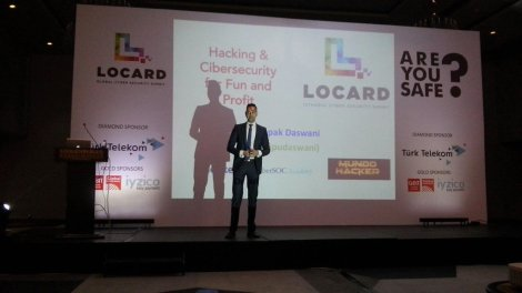 Deepak Daswani en Locard 2016 Estambul