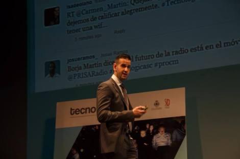 Deepak Daswani en Tecnológica Santa Cruz 2014