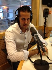 Mi primera vez en la radio