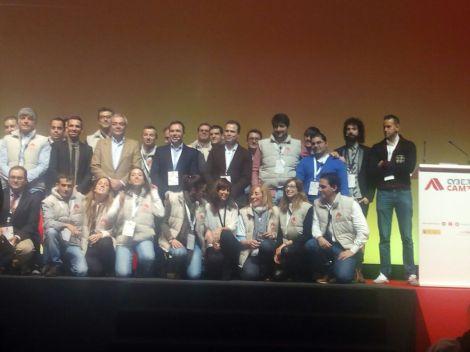 El equipo de organización de Cybercamp