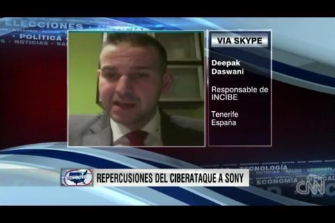 Entrevista en CNN desde Tenerife el pasado martes
