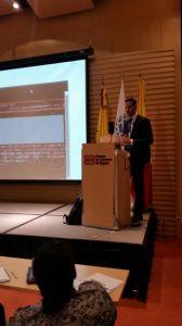 Conferencia en Jornadas de Seguridad en Colombia