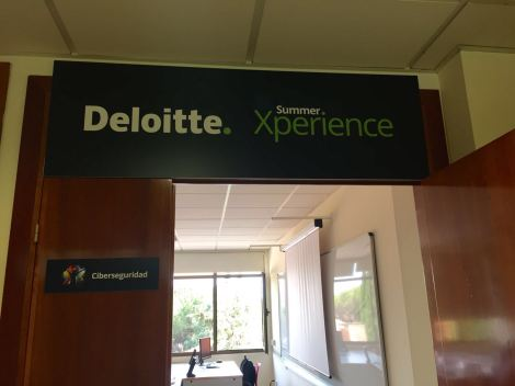 Aula de Ciberseguridad en Deloitte Summer Experience
