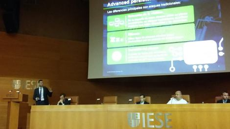 Charla en IESE Business School en Barcelona