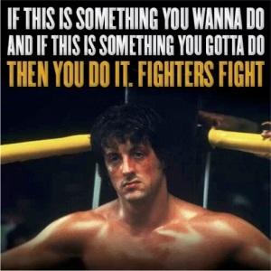 Lucha por lo que quieres